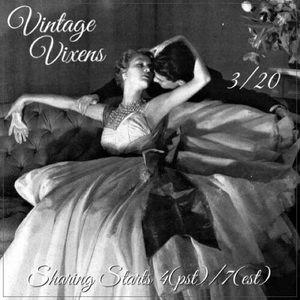 SATURDAY 3/20 Vintage Vixens Sign Up Sheet